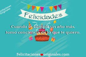 Felicitaciones originales cumpleaños tarjetas