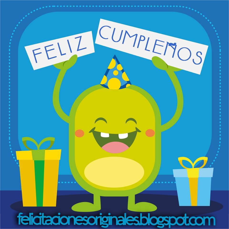 felicitacion cumpleaños graciosa