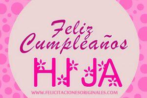 Felicitaciones Originales Cumpleaños hijas