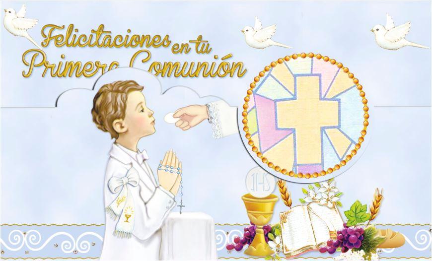 Felicitaciones originales comunion