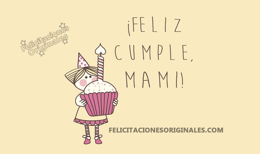 Frases Feliz Cumpleaños Mama