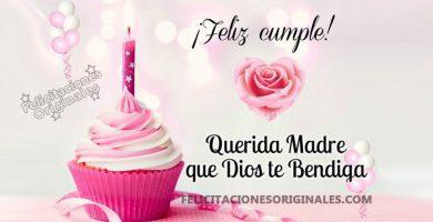 felicitaciones cumpleaños madre mama