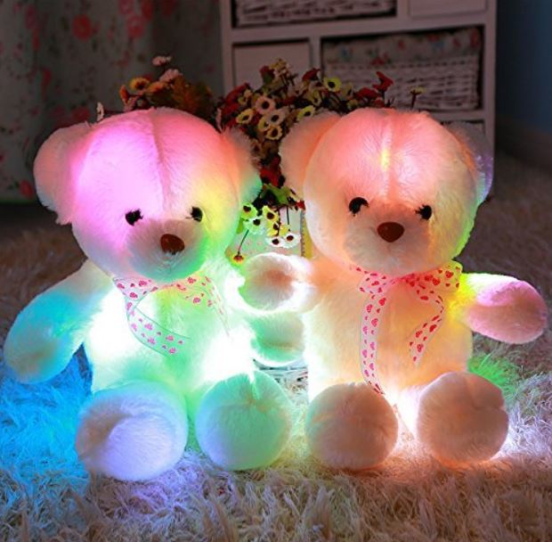 OSITO PELUCHE luz LED REGALO ORIGINAL CUMPLEAÑOS