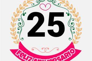 25 aniversario de bodas