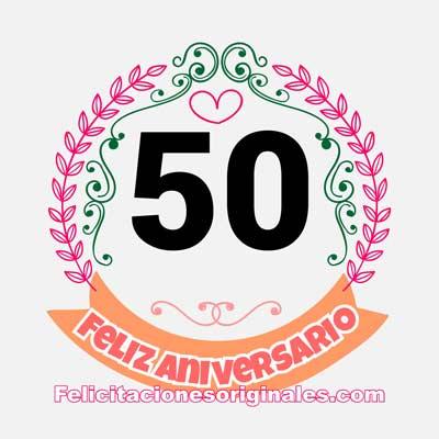 50 aniversario de casados de boda
