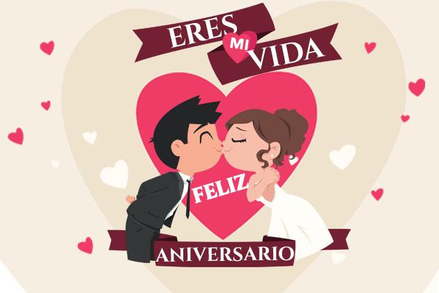 Feliz Aniversario Amor Frases: º‿º】 Felicitaciones Aniversarios 100% Originales » 🧡