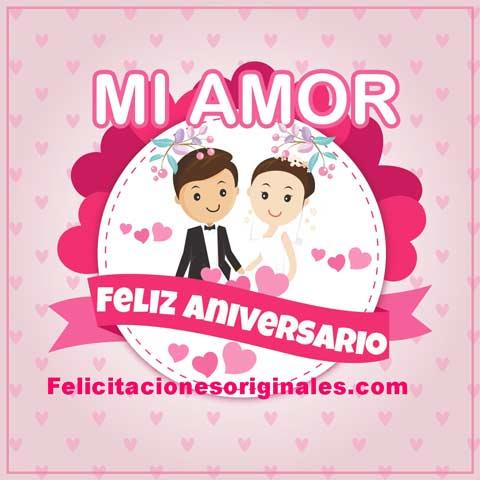 feliz aniversario amor casados