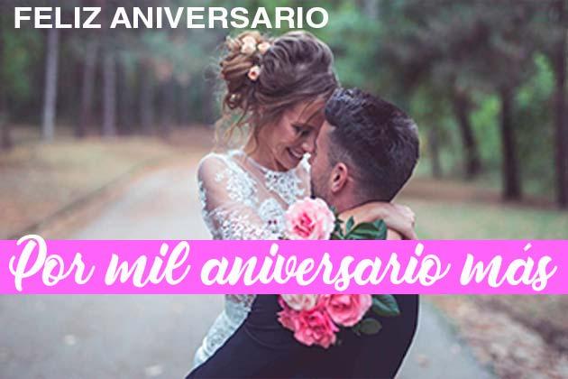 felicitaciones aniversario matrimonio
